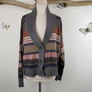 Royal Robbins grandpa cardigan sweater